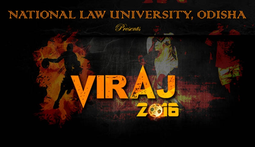 NLUO Inter-University sports fest 'VIRAJ-2016'