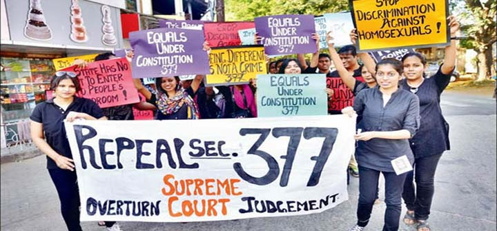 Eminent citizens move SC for quashing section #377IPC