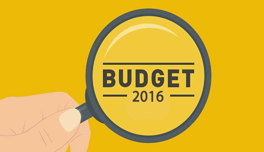 Budget 2016 - Challenging Times to Continue