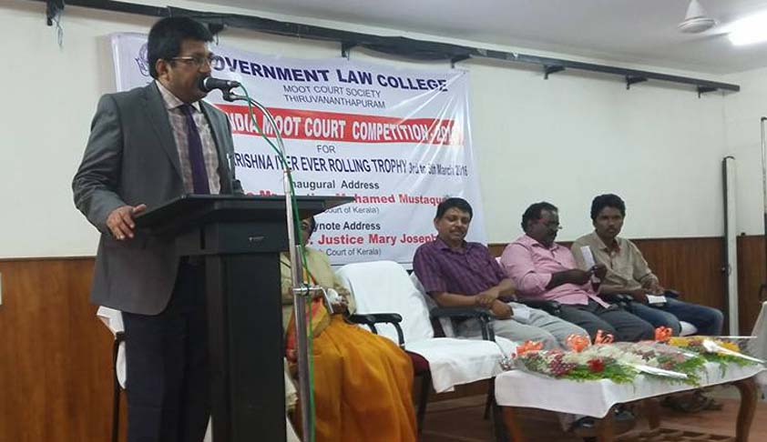 School of Excellence, Tamil Nadu Dr Ambedkar Law University lifts trophy at Justice V R Krishna Iyer Moot Competition