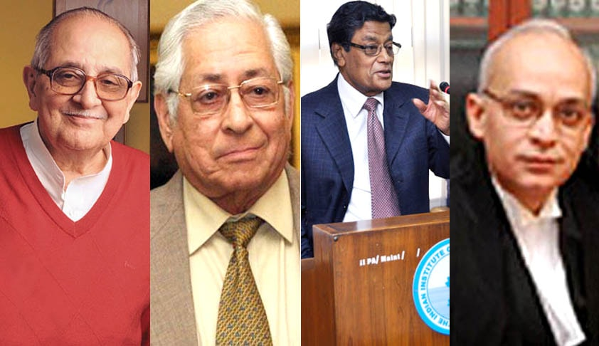 Nariman, KKV, Sorabji & other Seniors write to CJI against Transfer of Delhi HC Judge Justice Rajiv Shakdher
