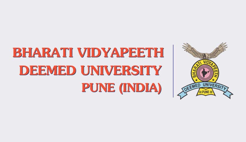 Bharati Vidyapeeth Deemed University New Law College, Pune - Admission 2016