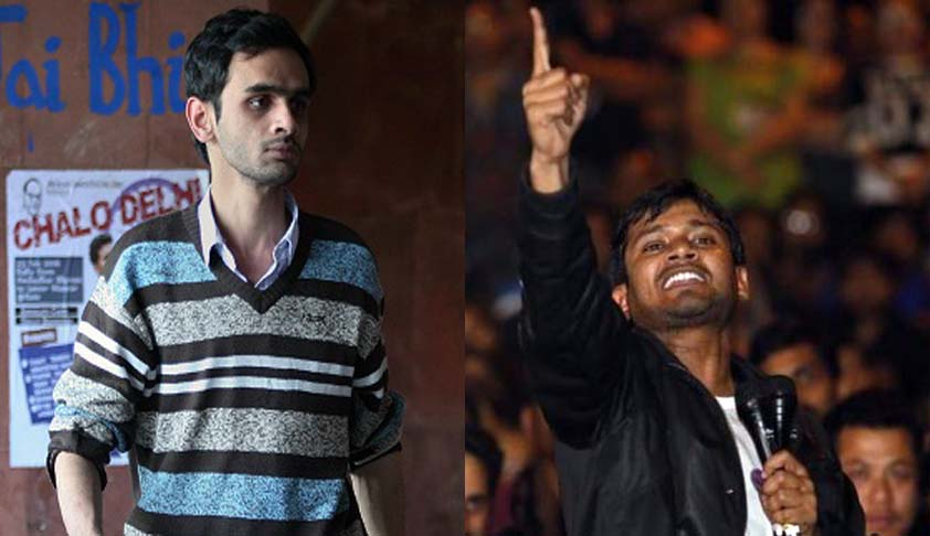 JNU rusticates Umar Khalid for one semester; Kanhaiya Kumar fined for Rs. 10,000