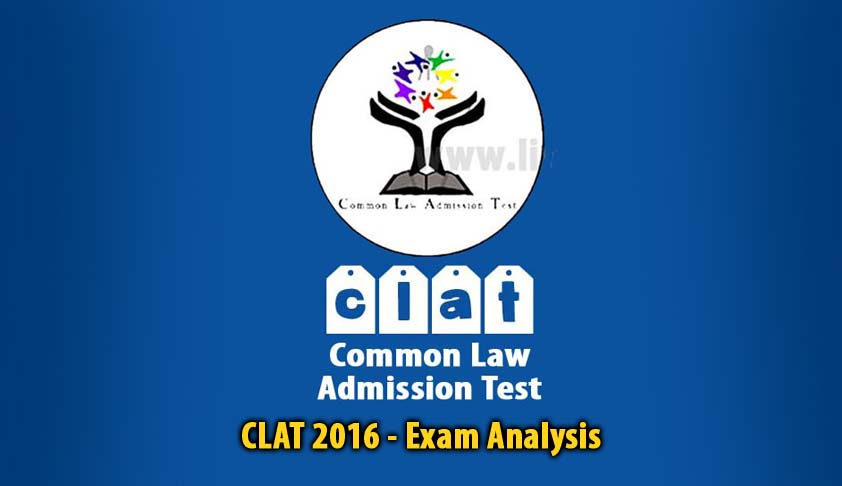 CLAT 2016: Exam Analysis