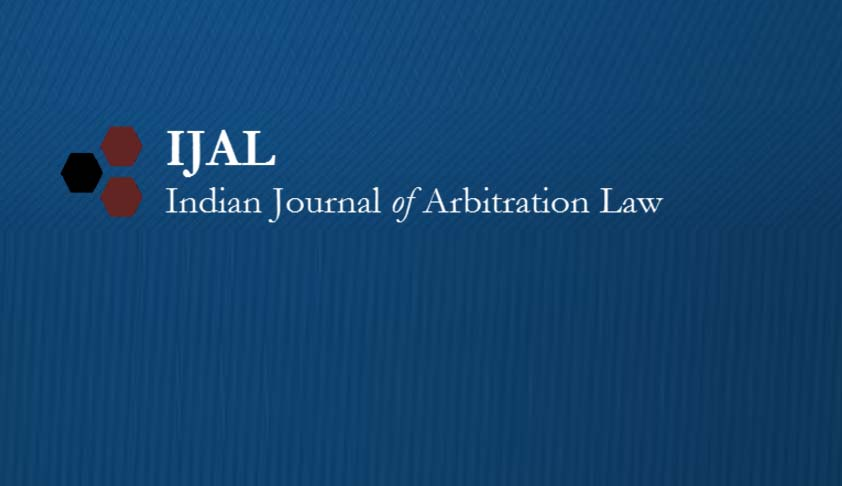 Call for Papers - Indian Journal of Arbitration Law, Volume 5, Issue 2
