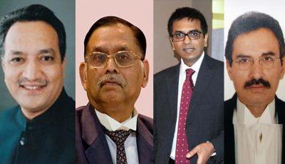 Justice A M Khanwilkar - Justice Ashok Bhushan - Justice Chandrachud - L Nageshwar Rao