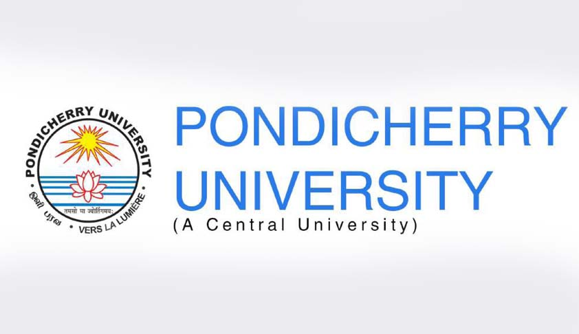 The School of Law, Pondicherry University: LLM Programme based on Choice Based Credit System