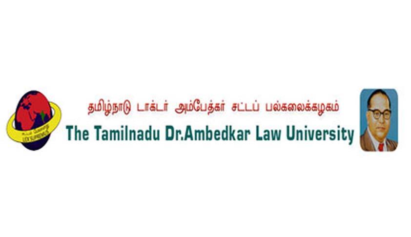 The Tamil Nadu Dr. Ambedkar Law University- Admission Notification: 2016-2017