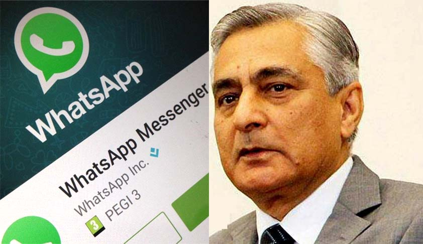 CJI refuses to accept Whatsapp message as PIL; agrees to hear content as petition