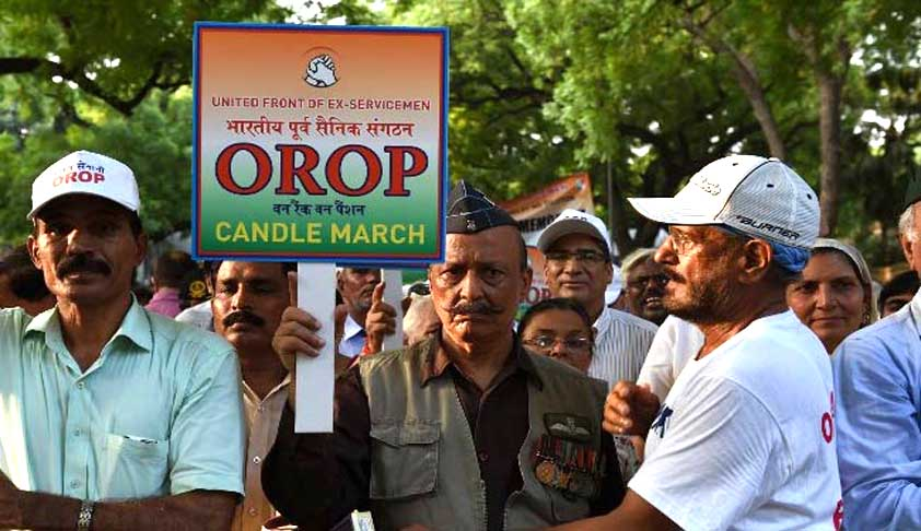 SC notice to Centre on OROP plea; Jethmalani represents Ex-servicmen [Read Petition]