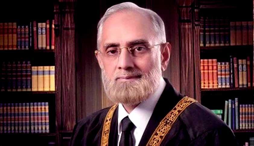 Pak Chief Justice Slams Political Parties For Endorsing Terrorism