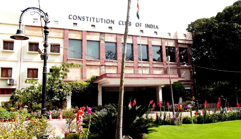 Constitutional Club Of India Is A 'Public Authority' Under RTI Act: CIC [Read Order]