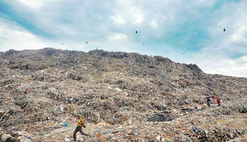 Delhi Landfill Sites A Health Hazard: SC
