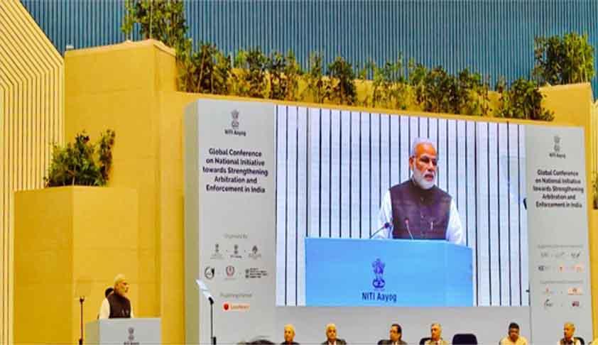 Lets Make India A Global Hub Of Arbitration: PM Modi