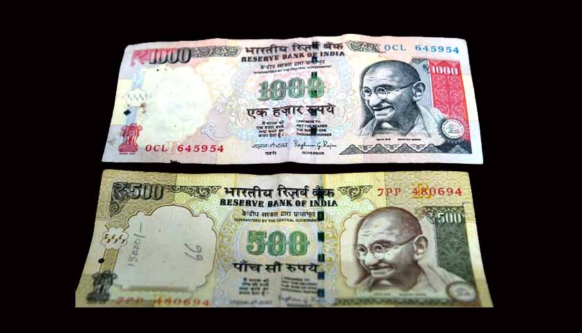The Legal Scheme Of Withdrawal Of Rs. 500 And Rs. 1000 Notes