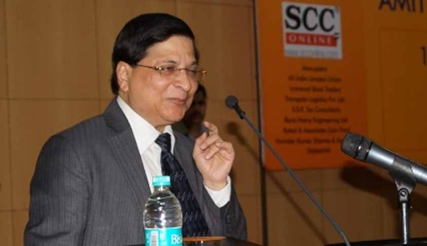 Justice Dipak Misra Appointed As NALSA Executive Chairman [Read Notification]