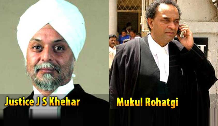Centre Asks CJI Khehar To Dismiss Judges Appointment PILs; He Refuses