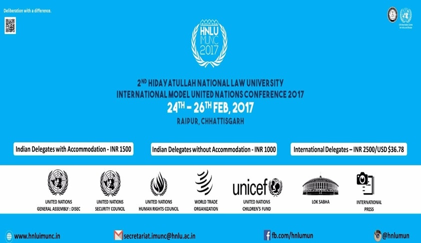 2nd HNLU Model United Nations Conference