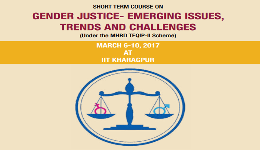 Short Term Certificate Course on Gender Justice: Emerging Issues, Trend And Challenges