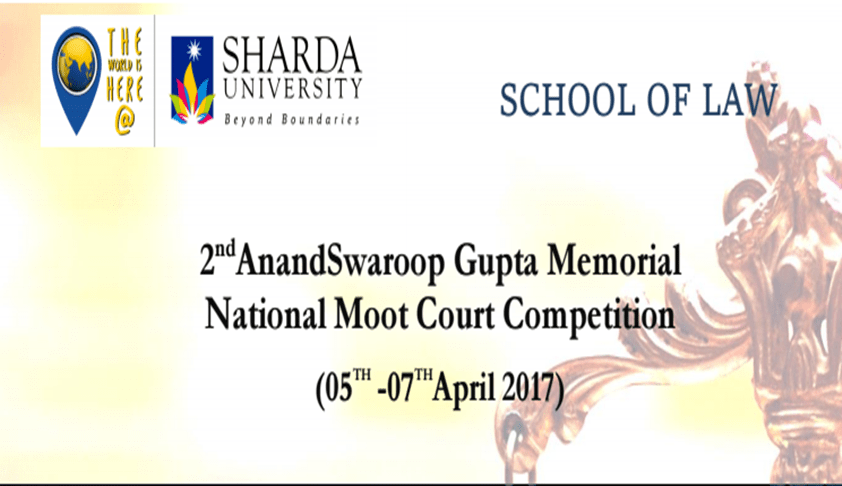 2nd Anand Swaroop Gupta Memorial National Moot Court Competition 2017