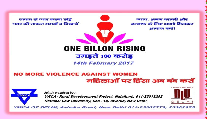 One Billion Rising: - Rural Development Project