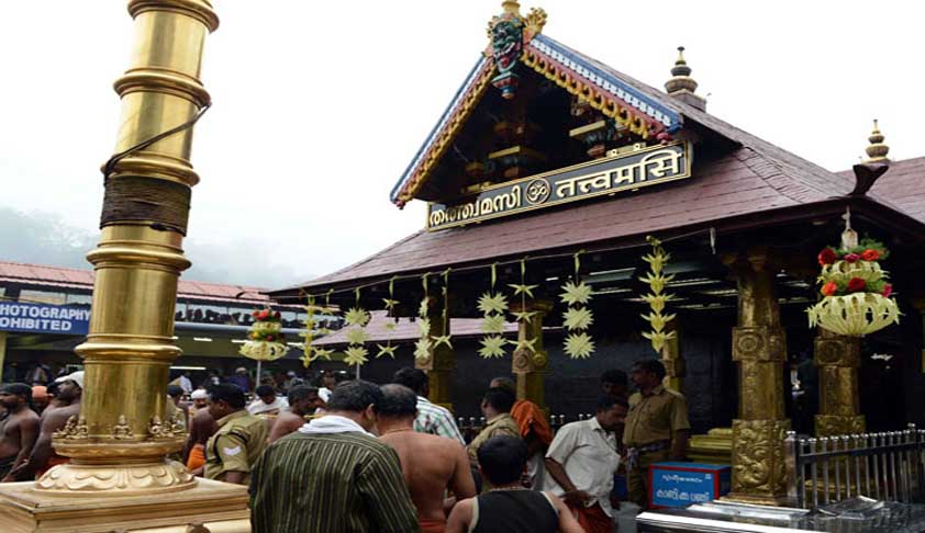 Octogenarian Moves SC Seeking Women's Entry To Sabarimala Temple [Read Application]