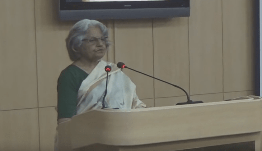 Guest Lecture by Ms. Indira Jaising on Crime & Punishment: The Law Of Rape In India [Watch Video]