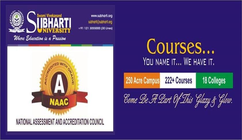 Admission Notification: Subharti University