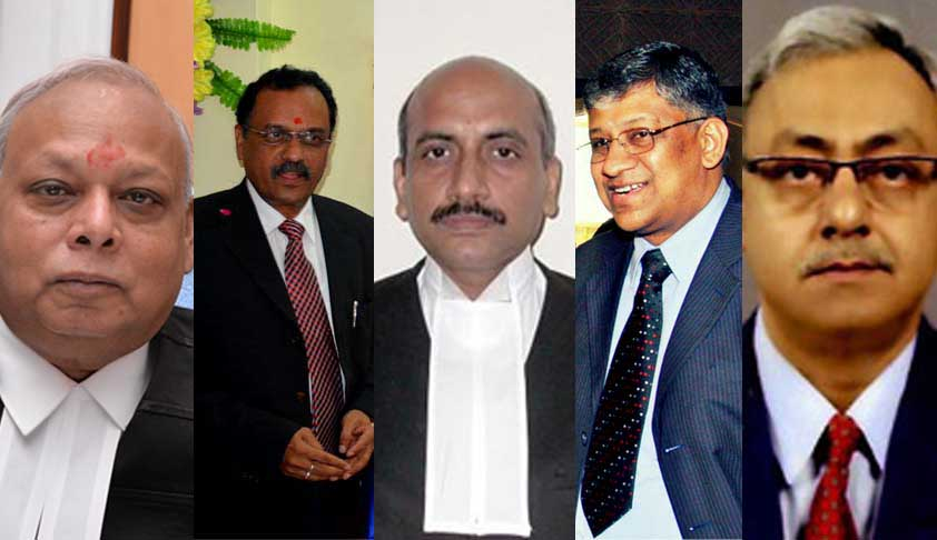 Breaking: New Chief Justices Appointed In MP, Patna, Kerala, Chhattisgarh, Jharkhand HCs [Read Notifications]