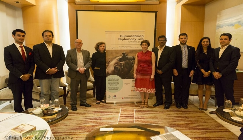Mumbai Leg of the Humanitarian Diplomacy Lab Hosts the Open Situation Room on Water Security