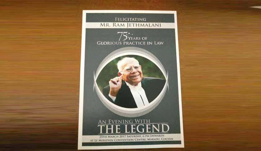 Senior Advocate Ram Jethmalani Hospitalised