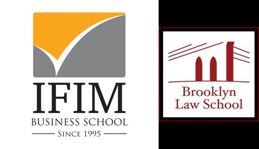 Building a bridge in legal education between Brooklyn Law School and IFIM Law College