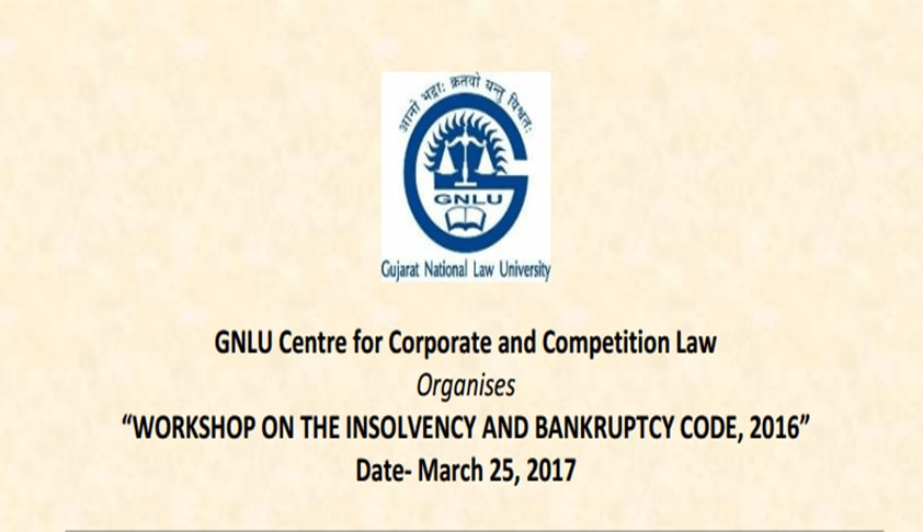 Workshop on Insolvency and Bankruptcy Code, 2016