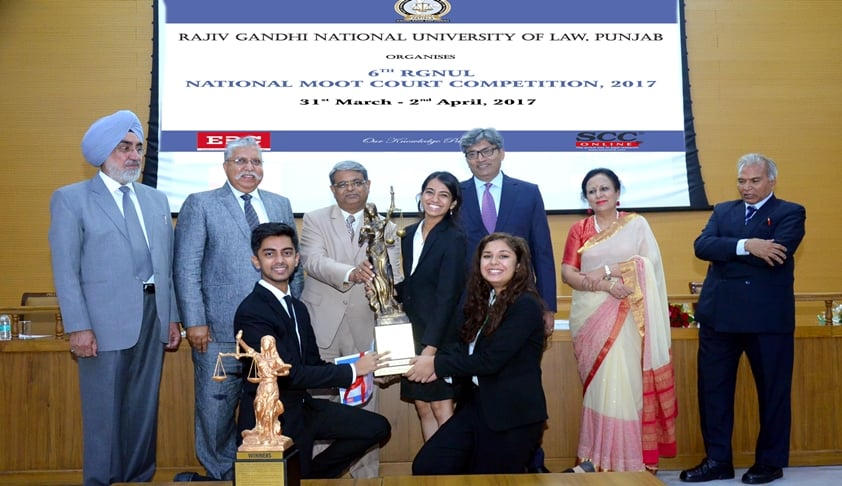 RGNUL: 6th National Moot Court Competition Post Event Update
