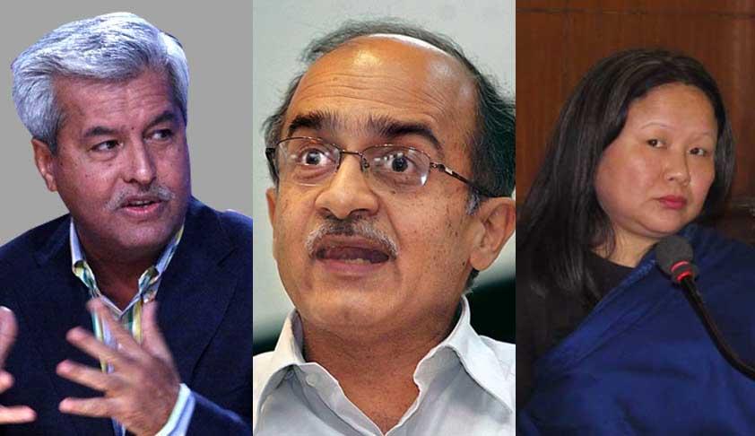 SC Rejects Contempt Plea Against Dushyant Dave, Prashant Bhushan, Kalikho Pul's Wife