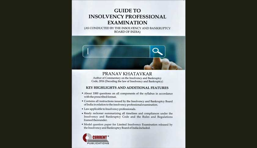 Book Review Of Guide To Insolvency Professional Examinations