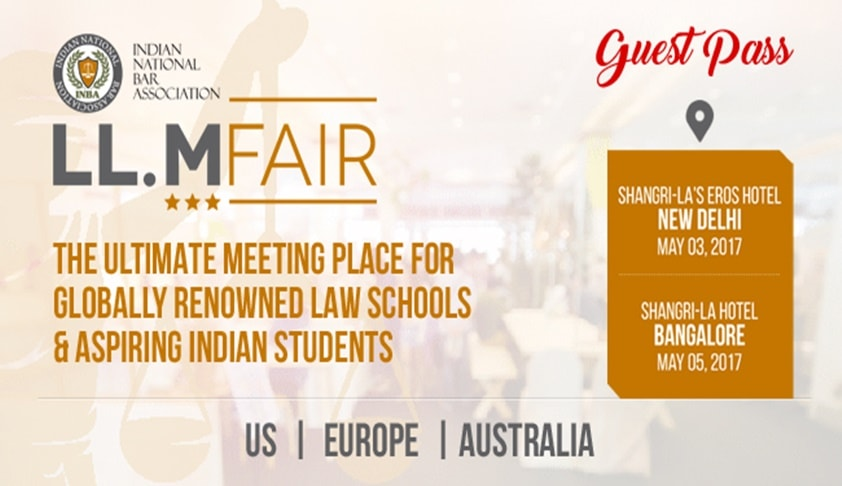 Guest Pass: INBA-LLM India Fair 2017