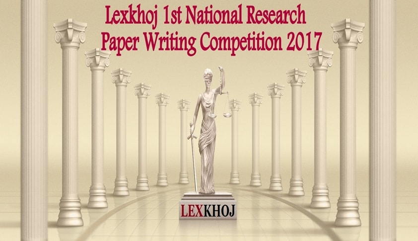 Lexkhoj 1st National Research Paper Writing Competition