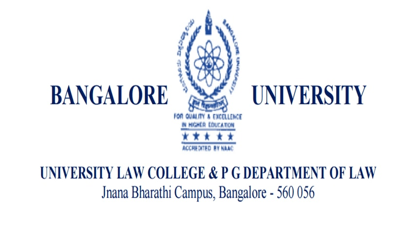 National Conference by University Law College & P.G. Department of Law, Bangalore University