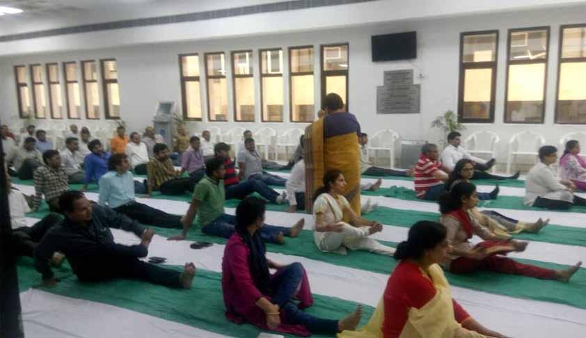 Int'l Yoga Day: Delhi HC Holding Yoga Classes