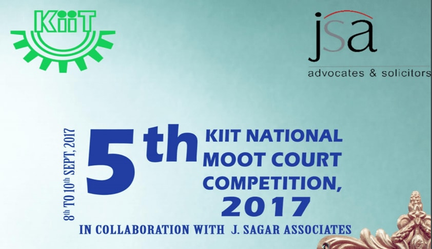 5th KIIT National Moot Court Competition, 2017