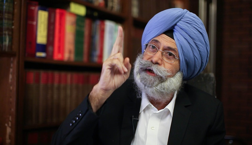 Senior Advocate HS Phoolka Chooses 1984 Riot Victims Over 'Office Of Profit'