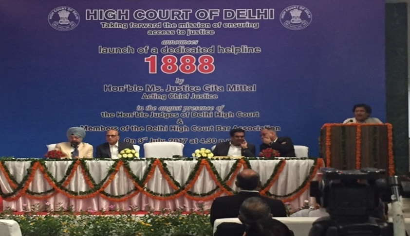 Dial 1888 For Easy Access To Justice As Delhi HC Launches New Helpline Number