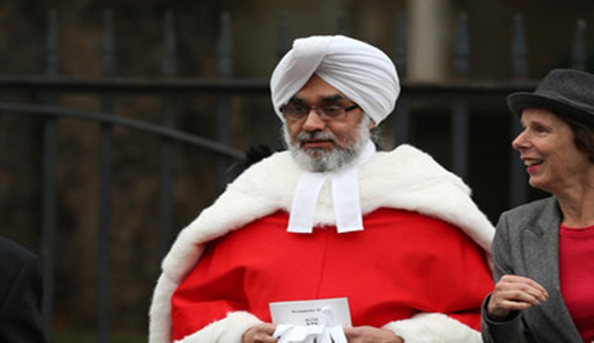 British Sikh Judge Sir Rabinder Singh Promoted To The UK Court Of Appeal