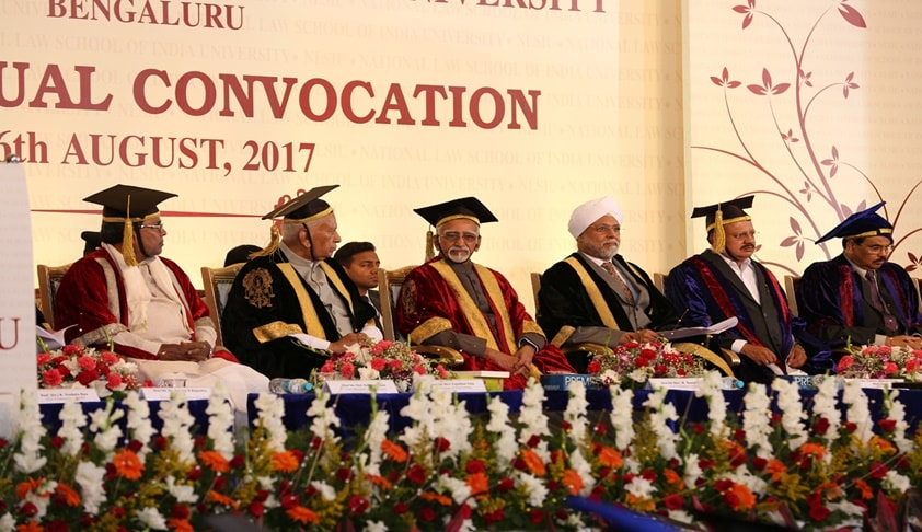 Nationalism Should Mean Affection For The Nation In All Its Diversity: VP Hamid Ansari At 25th NLSIU Convocation [Read Full Text]