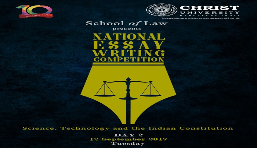 Christ University: National Essay Writing Competition