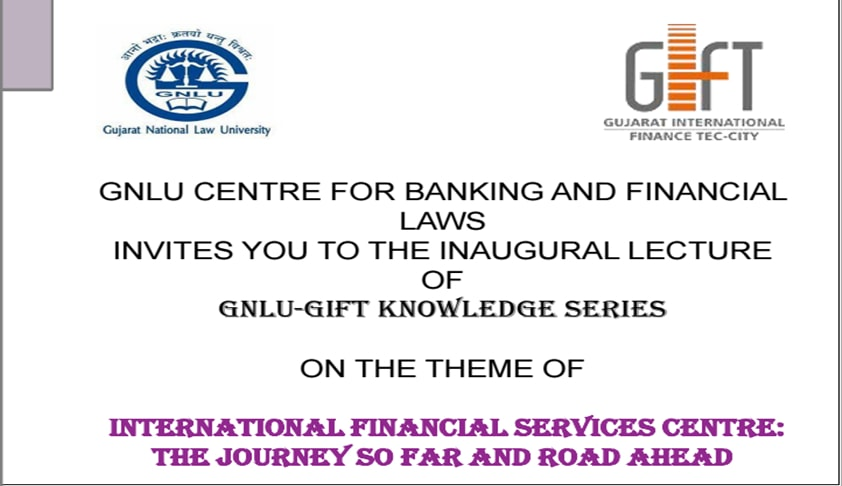Inaugural Lecture of the GNLU-GIFT Knowledge Series