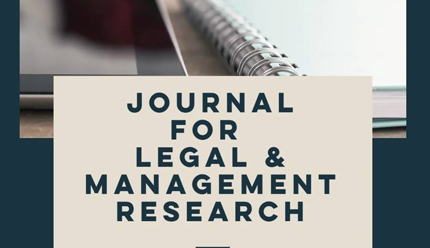 Call for Papers: Journal for Legal and Management Research, Volume 1 Issue 1