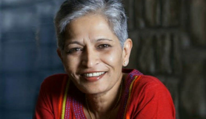 'Lawyers Collective' Pays Tribute To Gauri Lankesh, Pledges To Defend Rule Of Law