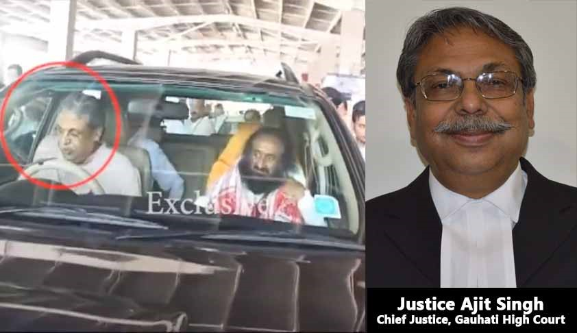 Gauhati HC Chief Drives Sri Sri Ravi Shankar To Airport, HC Lawyers Say CJ Violates Rules